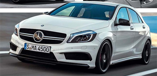 Обзор новинки Mercedes-Benz A 45 AMG 4 Matic